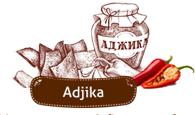 «Domashni Croutons» with Adjika.